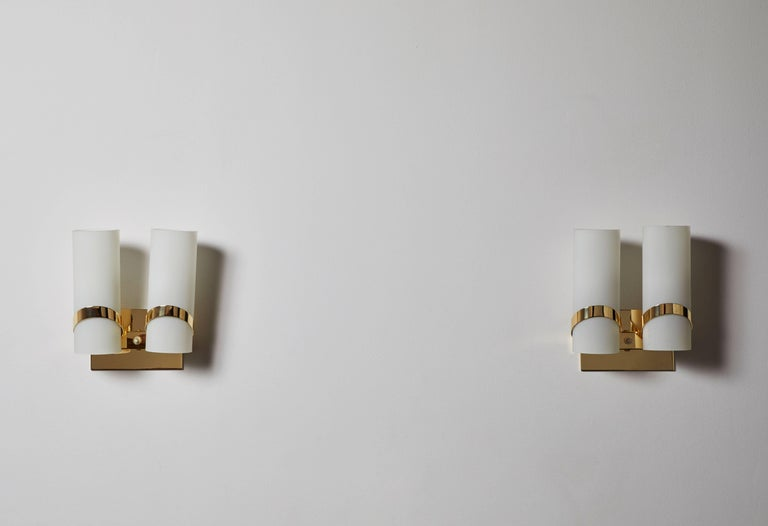 Pair of Italian Sconces In Good Condition For Sale In Los Angeles, CA