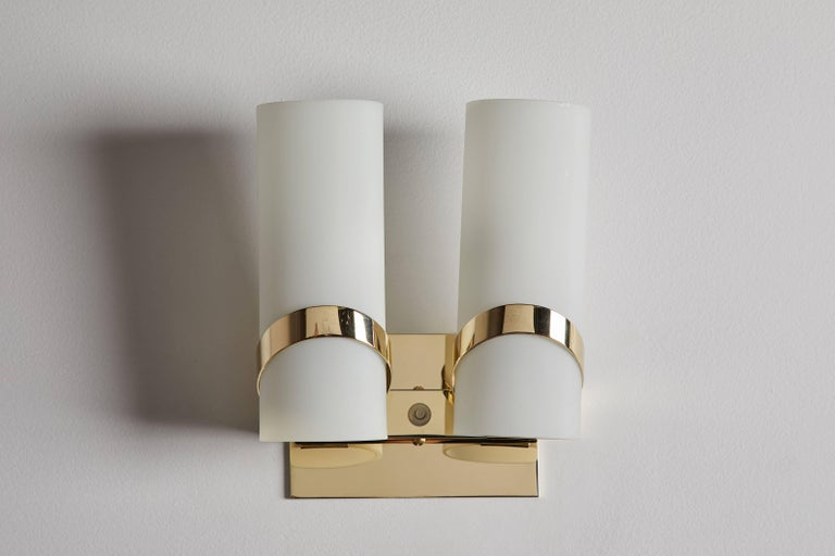 Mid-20th Century Pair of Italian Sconces For Sale