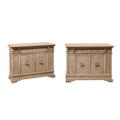 Pair of Italian-Style Early 20th Century Cabinets by Henry Fuldner and Sons