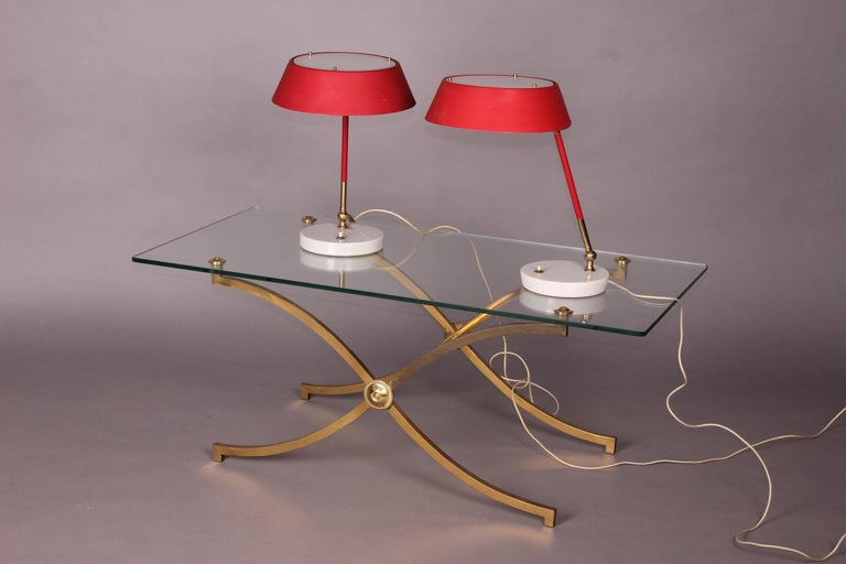Mid-20th Century Pair of Italian Table Lamp For Sale