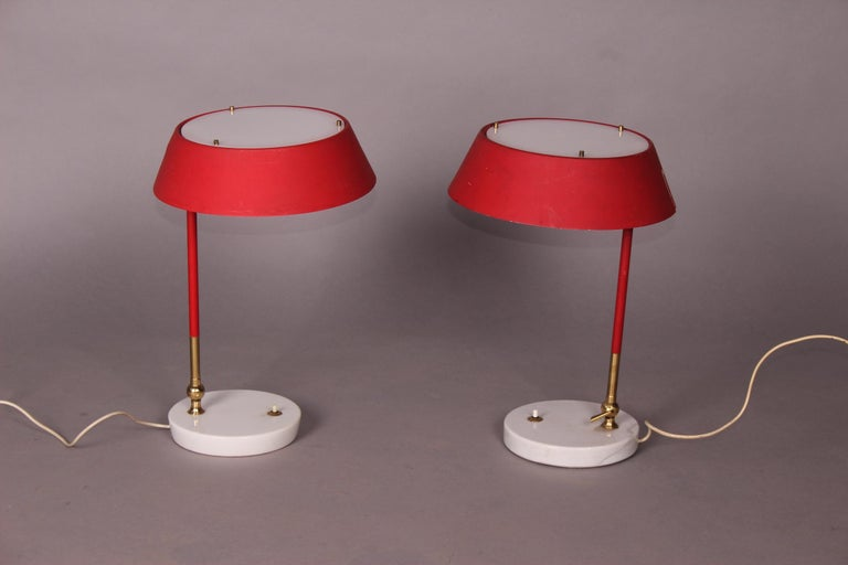 Pair of Italian Table Lamp For Sale 3
