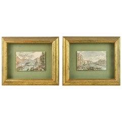 Pair of Italian Venetian Engraving