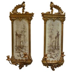 Pair of Italian Wall Sconces