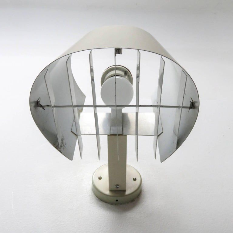 Enameled Pair of Itsu Wall Lights 'AH 48' For Sale