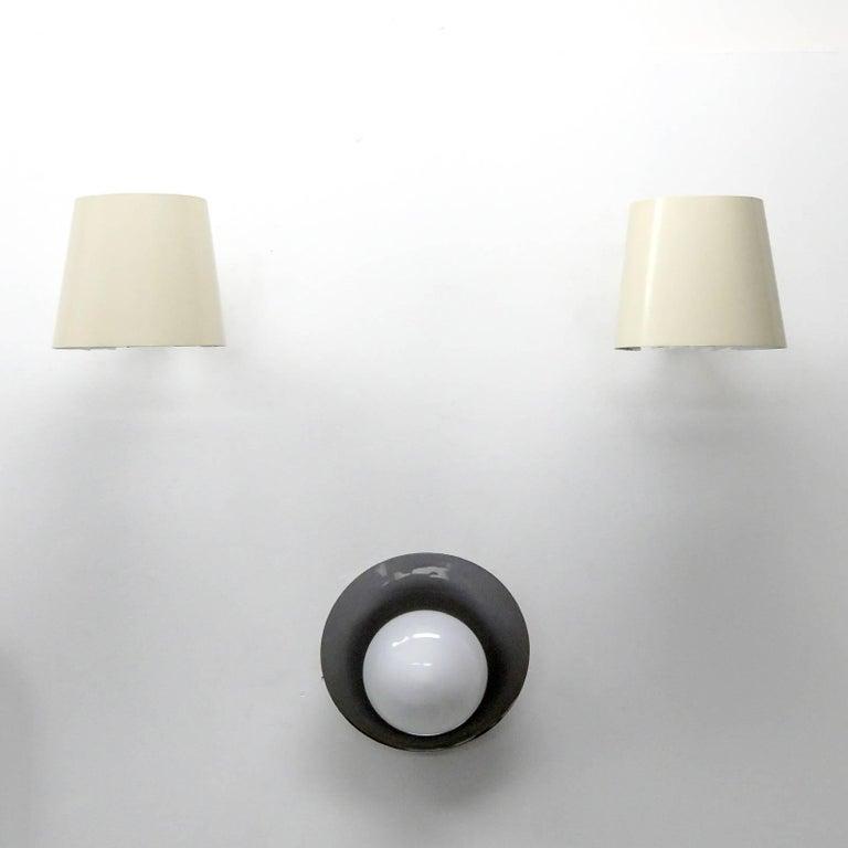 Metal Pair of Itsu Wall Lights 'AH 48' For Sale
