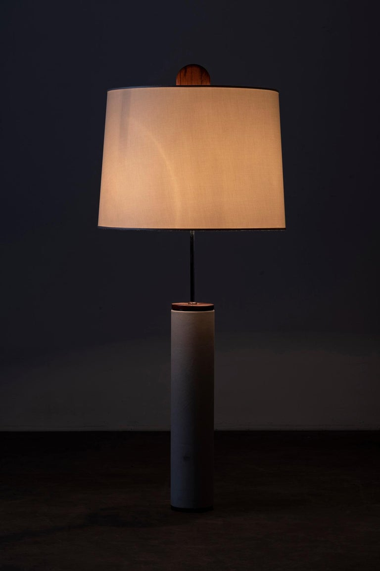 Mid-Century Modern Pair of J. Hirth Table Lamps by Sergio Rodrigues