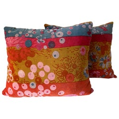 Pair of Jack Lenor Larsen Primavera Pillows