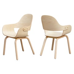 Pair of Jaime Hayon, Contemporary, Wood Chair Showtime Nude by BD Barcelona