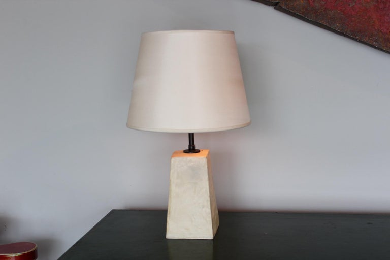 Pair of Jean-Michel Frank Style Table Lamps In Good Condition For Sale In Dallas, TX