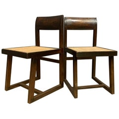 Pair of Jeanneret Box Chairs