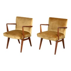 Pair of Jens Risom Occasional Chairs