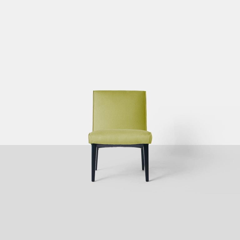 American Pair of Jens Risom Scoop Chairs for Hans Knoll For Sale