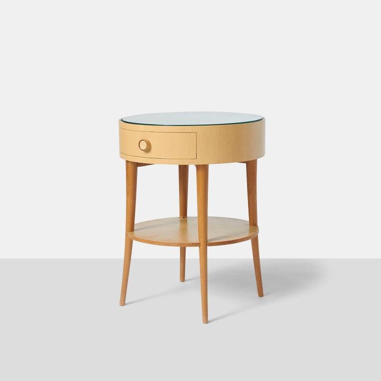 Brazilian Pair of Joaquim Tenreiro Side Tables For Sale