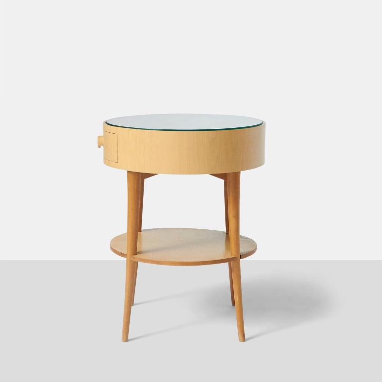 Mid-20th Century Pair of Joaquim Tenreiro Side Tables For Sale
