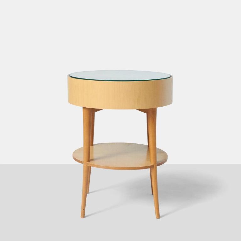 Pair of Joaquim Tenreiro Side Tables For Sale 1