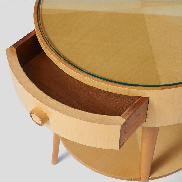 Pair of Joaquim Tenreiro Side Tables For Sale 3