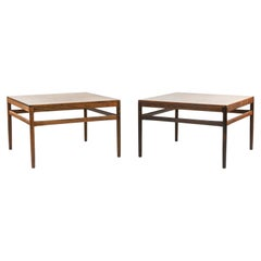 Pair of Johannes Andersen Rosewood Side Tables