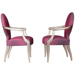 Pair of John Hutton Armchairs