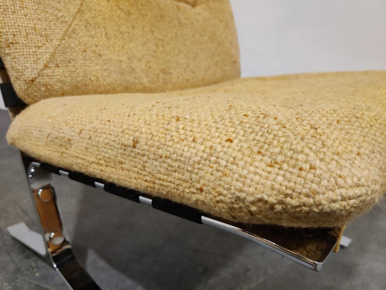 Pair of Joker Lounge Chairs by Olivier Mourgue, 1970s For Sale 1