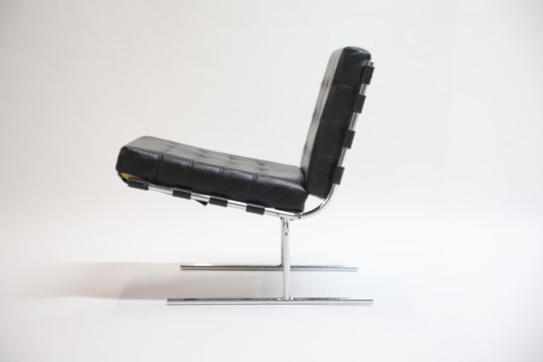 Mid-Century Modern Pair of Jorge Zalszupin for L'Atalier Brazilian Modern Lounge Chairs, circa 1960 For Sale