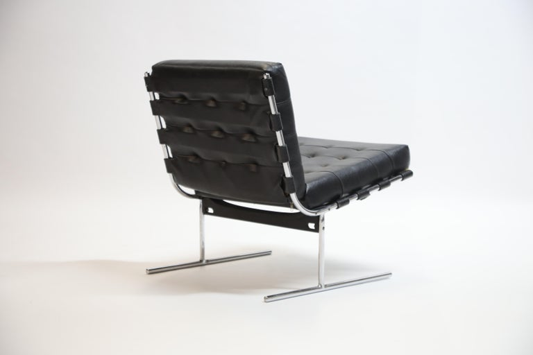 Pair of Jorge Zalszupin for L'Atalier Brazilian Modern Lounge Chairs, circa 1960 For Sale 1