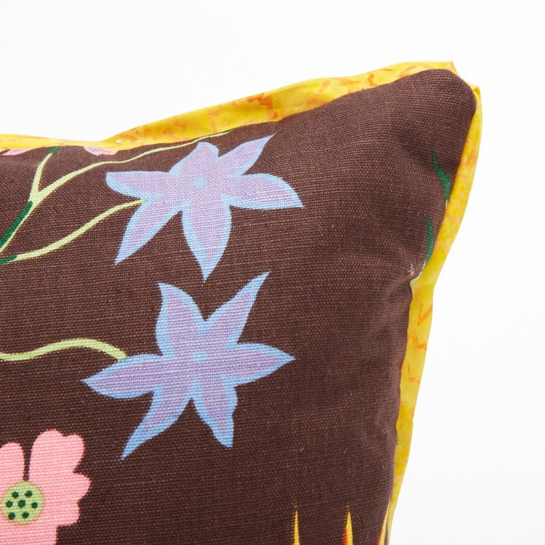 American Pair of Josef Frank Rectangular Cushions in the Hawaii Pattern For Sale