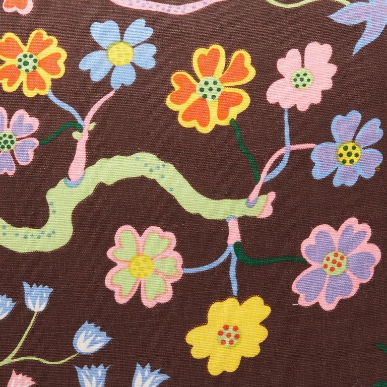 Pair of Josef Frank Rectangular Cushions in the Hawaii Pattern In New Condition For Sale In New York, NY