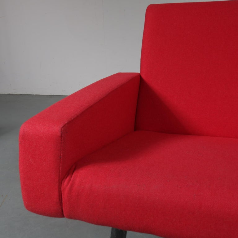 Pair of Joseph Andre Motte Lounge Chairs for Artifort, Netherlands, 1965 For Sale 2