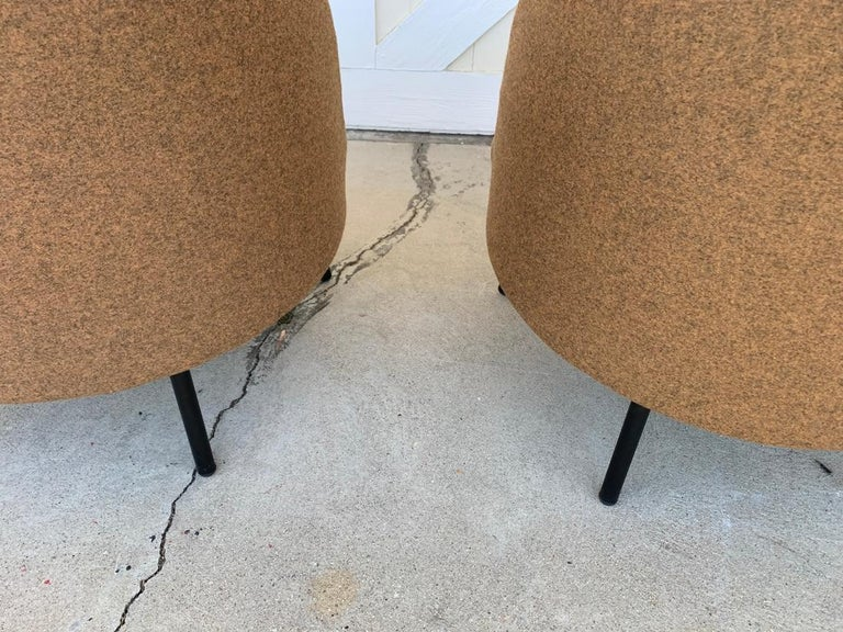 Pair of Jules Slipper Chairs by Claesson Koivisto Rune for Artflex For Sale 4