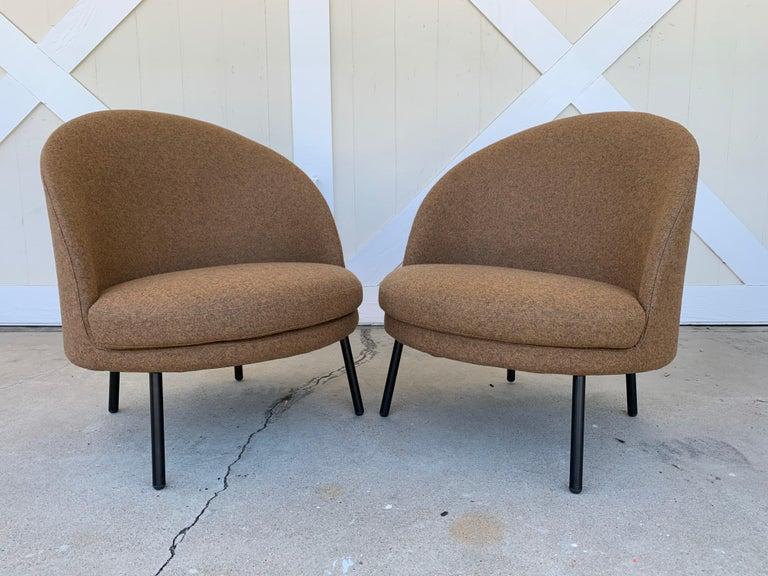 Italian Pair of Jules Slipper Chairs by Claesson Koivisto Rune for Artflex For Sale