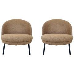 Pair of Jules Slipper Chairs by Claesson Koivisto Rune for Artflex