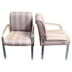Pair of Kagan/Preview  Lucite Club Chairs