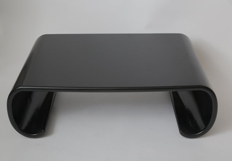 American Pair of Karl Springer Chinese Leather Coffee Tables For Sale