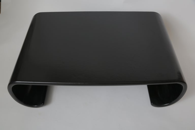 Pair of Karl Springer Chinese Leather Coffee Tables For Sale 3