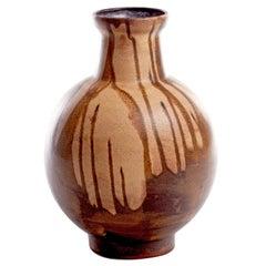 Pair of Karlsruhe Sculptural German Vases