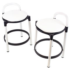 Pair of Kartell Barstools by Anna Castelli Ferrieri