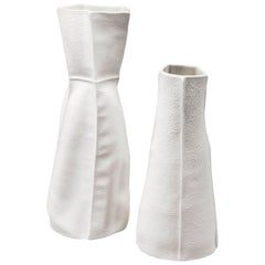 Pair of Kawa Vases by Luft Tanaka, in Stock