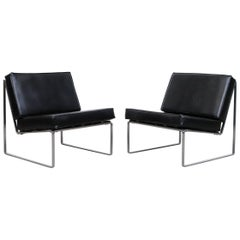 Pair of Kho Liang Ie Model 025 Lounge Chairs for Artifort