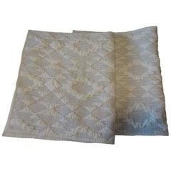 Pair of King Size Pendleton Quilted Pillow Cases