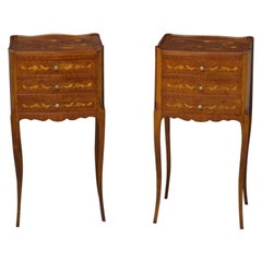 Pair of Kingwood Bedside Cabinets or Chests