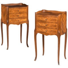 Pair of Kingwood Petite Commodes