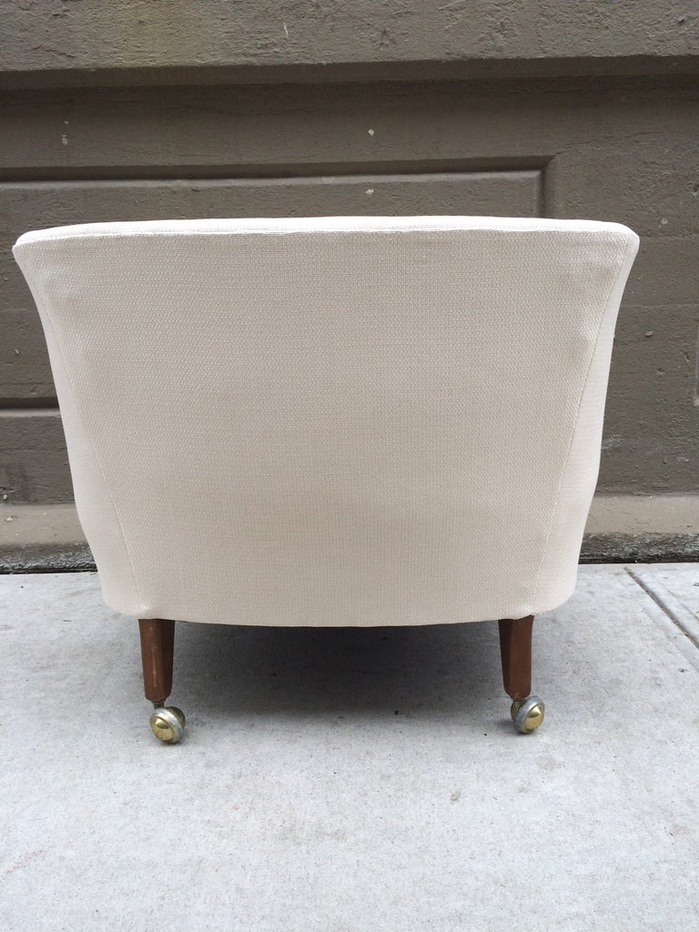 Mid-20th Century Pair of Kipp Stewart for Directional Lounge Chairs For Sale