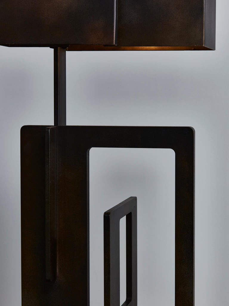 Contemporary Pair of Kit Table Lamps by Esperia For Sale