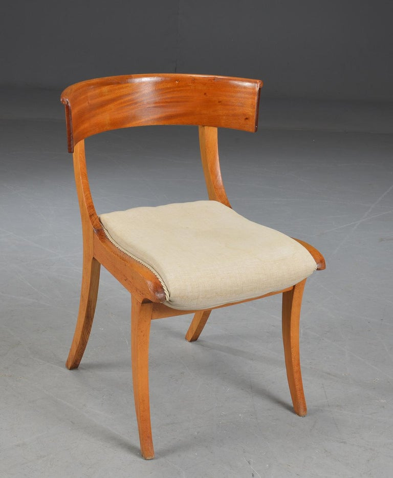 Danish Pair of Klismo Chairs For Sale