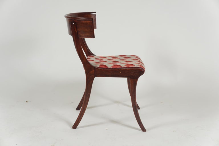 Danish Pair of Klismos Chairs For Sale