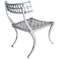 Pair of Midcentury Thinline Klismos Chairs