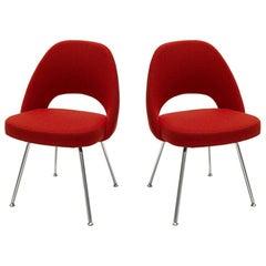 Pair of Knoll Saarinen Side Chairs