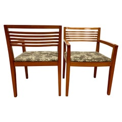 Pair of Knoll Studio Ricchio Armchairs by Joseph and Linda Ricchio
