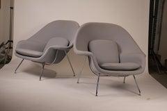 Pair of Knoll Womb Chairs designed by Eero Saarinen