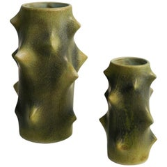 Pair of Knud Basse Vases for Michael Anderson & Son, Denmark